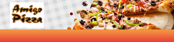 Amigo Pizza Bundbanner